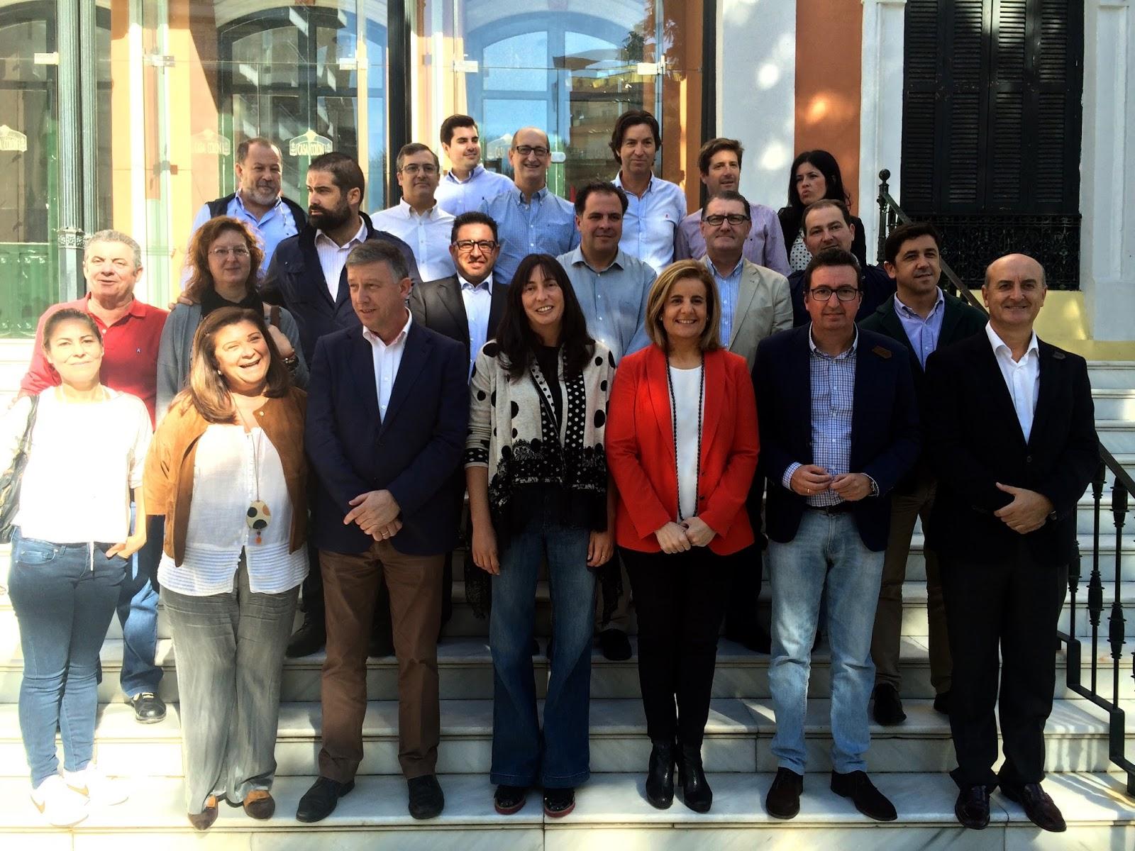 Nota PP Huelva presentación candidatas Congreso Senado