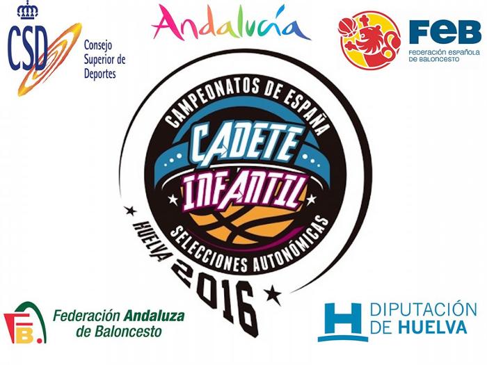 La provincia de Huelva sede de los Campeonatos de España de Selecciones Autonómicas de categoría cadete e infantil