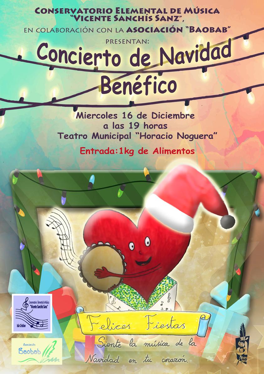 Concierto benéfico de Navidad en Isla Cristina