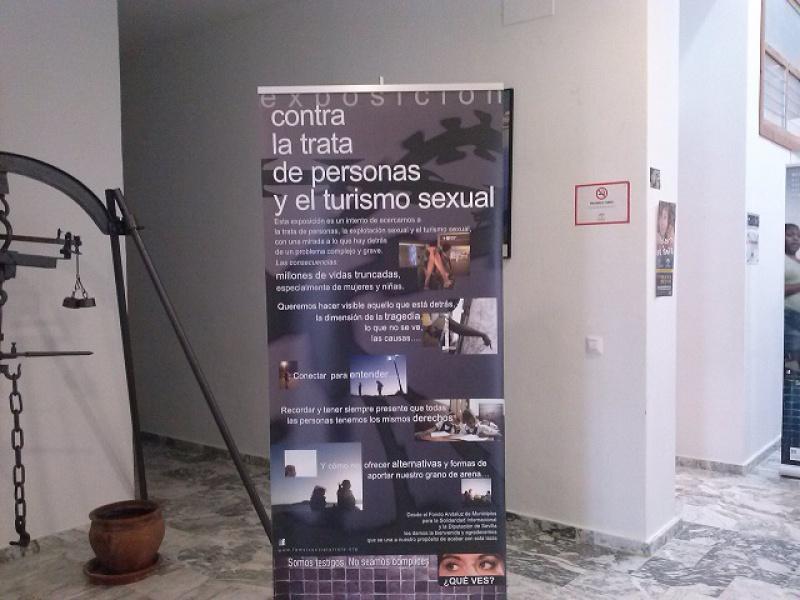 Más de 12.000 personas visitan la exposición fotográfica contra la trata de personas