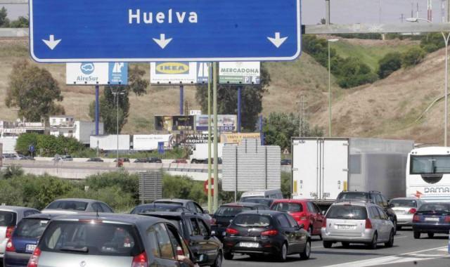 La DGT prevé 131.000 desplazamientos en Huelva en este puente