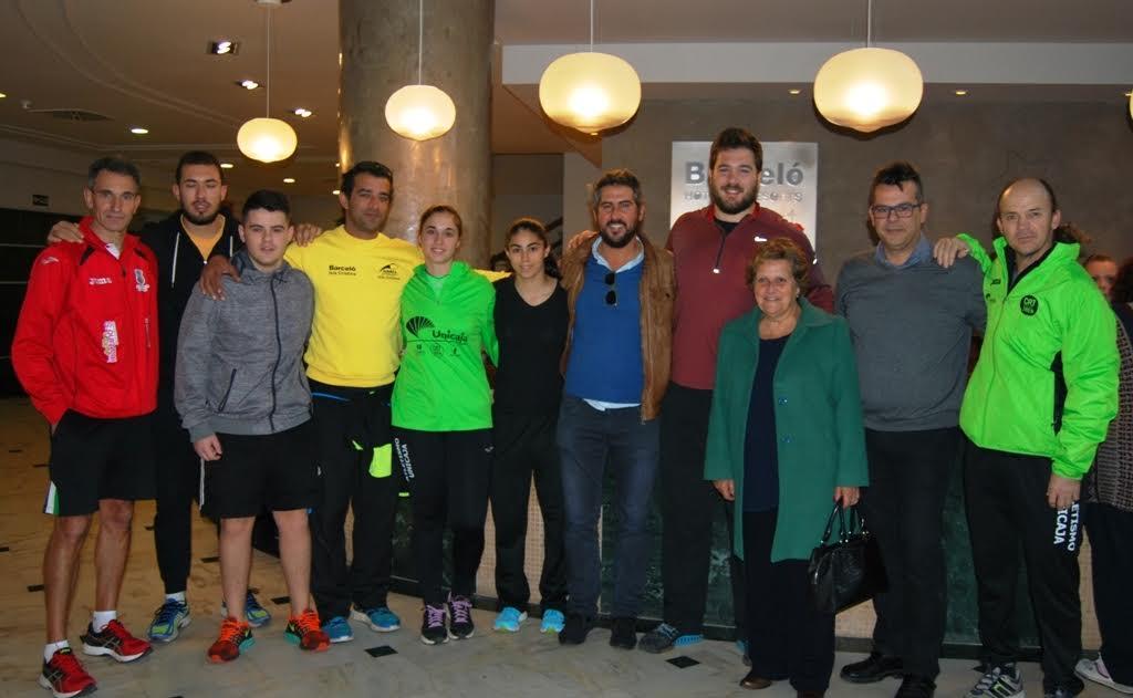 El Equipo Olímpico Español de Lanzamiento concentrado en Isla Cristina para uno de sus Entrenamientos de Élite
