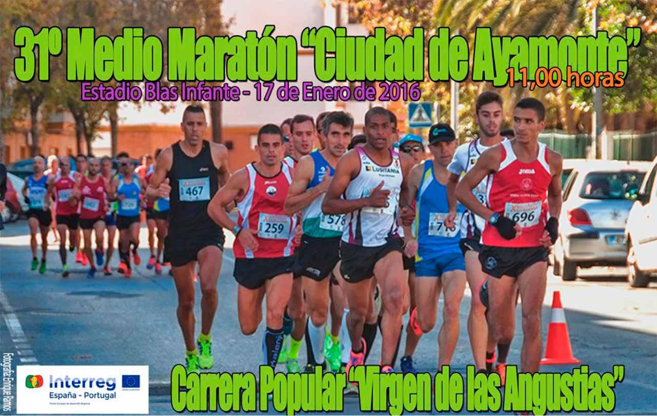 XXXI Media Maratón Ciudad de Ayamonte / Carrera Popular Virgen de las Angustias
