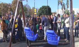 Isla Cristina inaugura un parque para personas discapacitadas