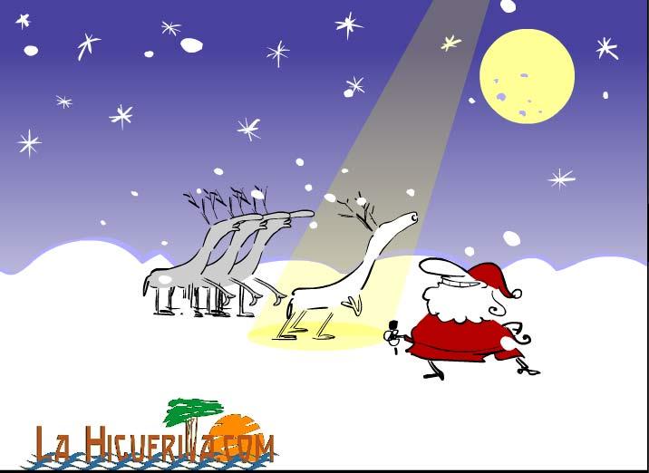 Felices fiestas les deseas lahiguerita.com