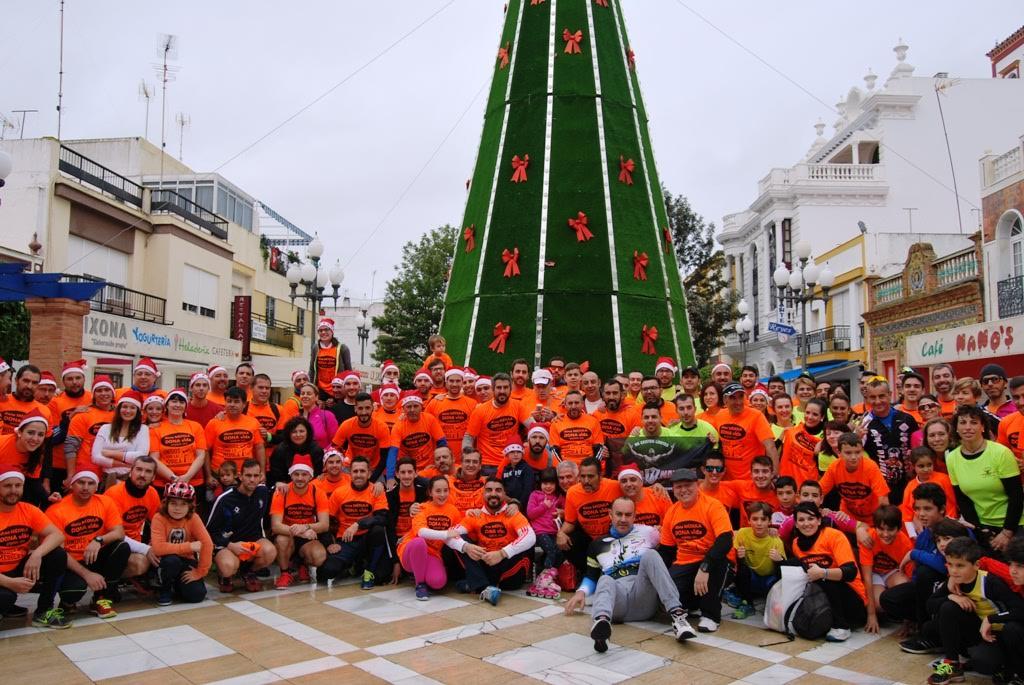 Isla Cristina despide el año con su tradicional San Silvestre