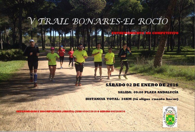 V Trail Bonares - El Rocío