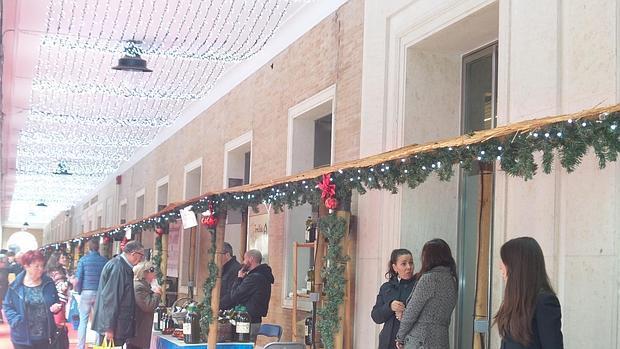 Unión Salazonera Isleña en la VI Muestra de Aceites y Conservas de la Provincia de Huelva