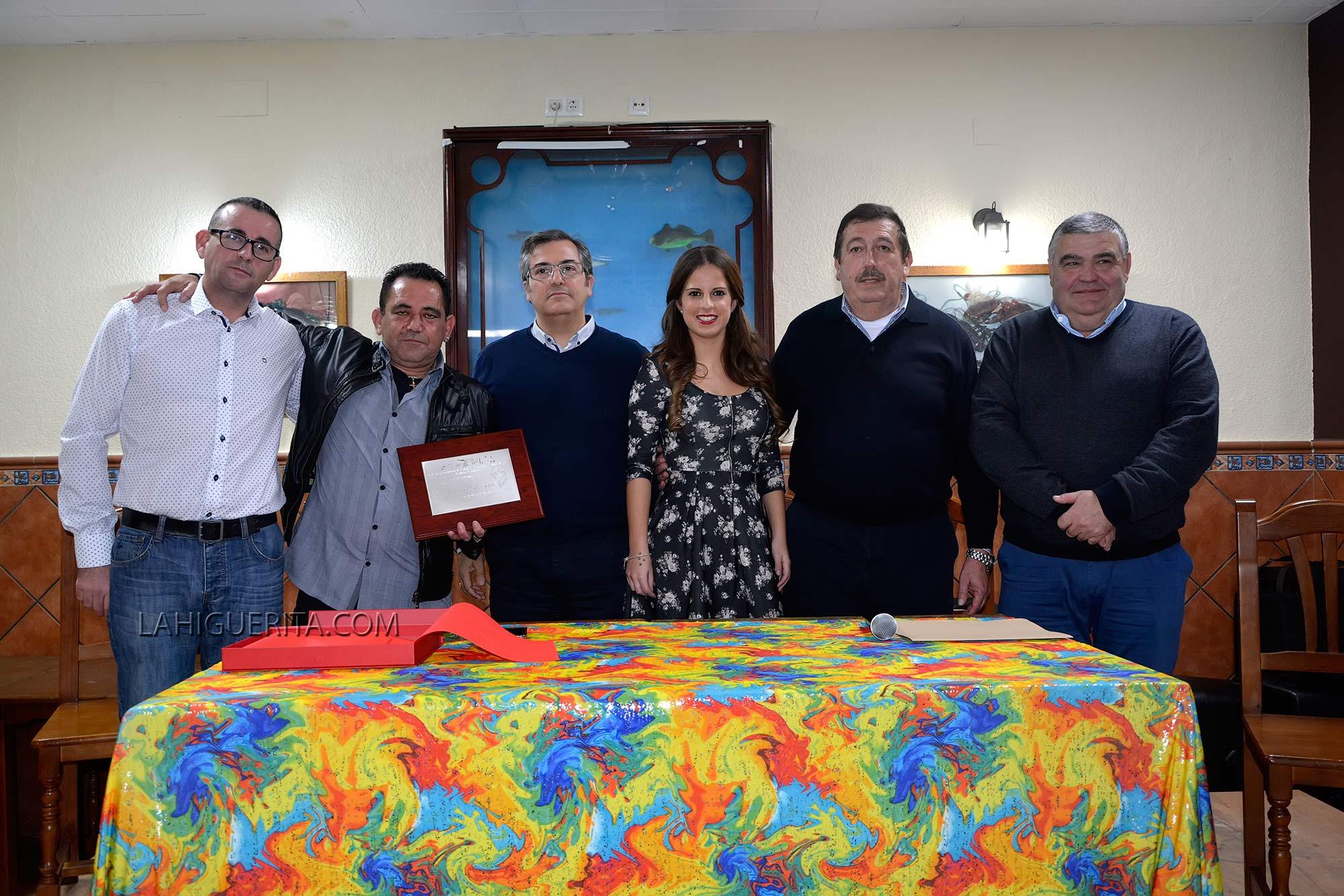 """Premio """"Manuel Fragoso-El Patitas"""" a Francisco Carmelo Ríos Cardoso 2016"""