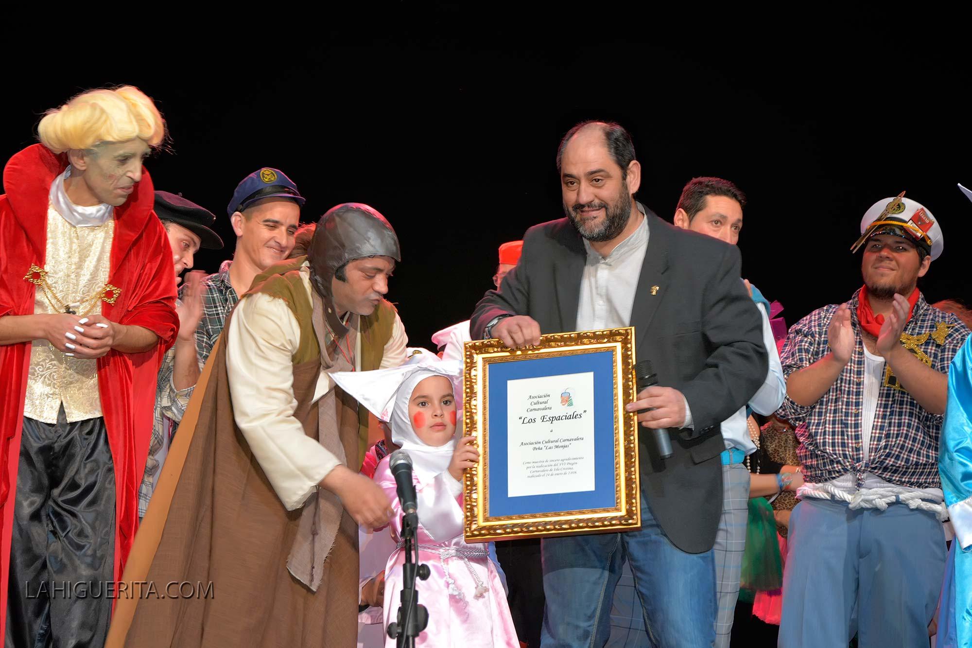 Pregón Carnavalero protagonizado por la Peña 'Las Monjas'