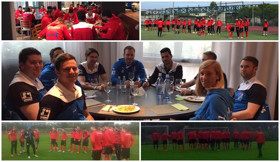 Encuentro de fútbol amistoso internacional en Isla Cristina