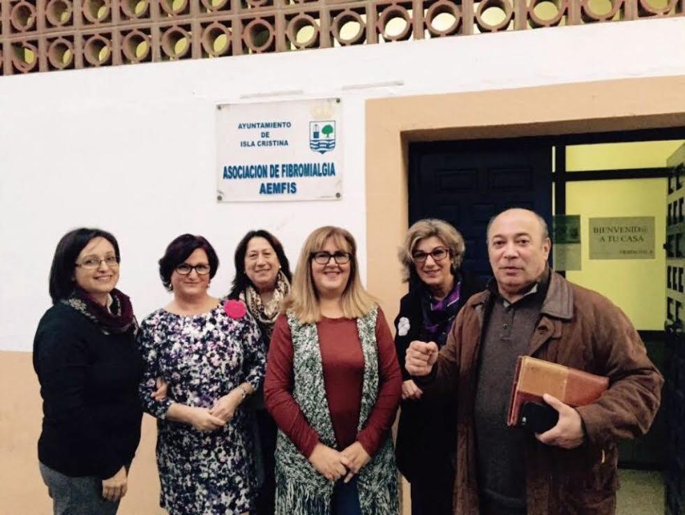 La Asociación de Enfermas de Fibromialgia inaugura un nuevo servicio