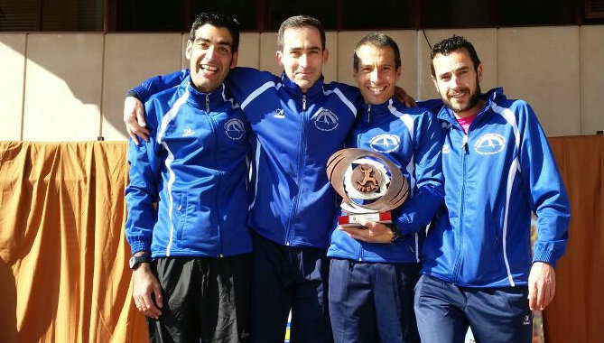 El C.A. Arcoiris entre los 10 mejores de España de Madia Maratón