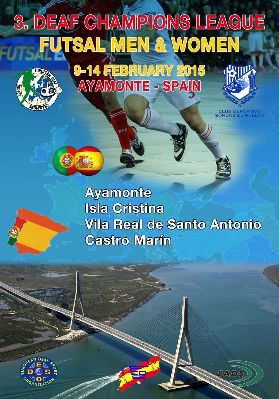 Isla Cristina será sede del Europeo de fútbol sala para sordos