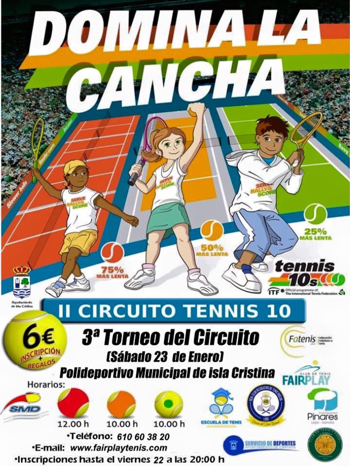 Domina La Cancha Jugando al Tenis