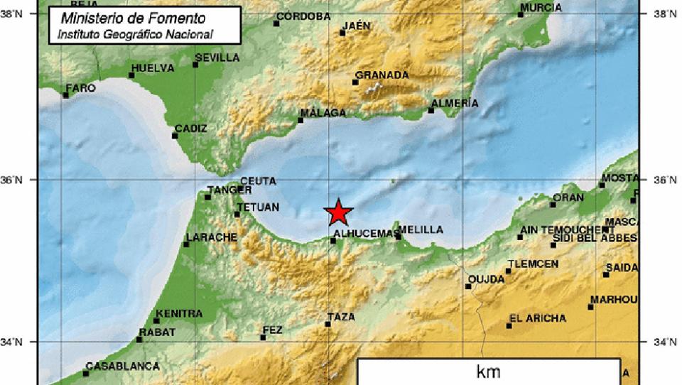 Un terremoto de magnitud 6,3 en la escala de Richter ha sido sentido en todas las provincias andaluzas
