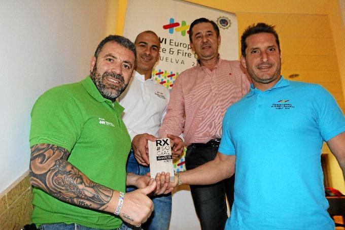 Los VI juegos europeos de Policías y Bomberos, presentación estrella de Huelva en Fitur