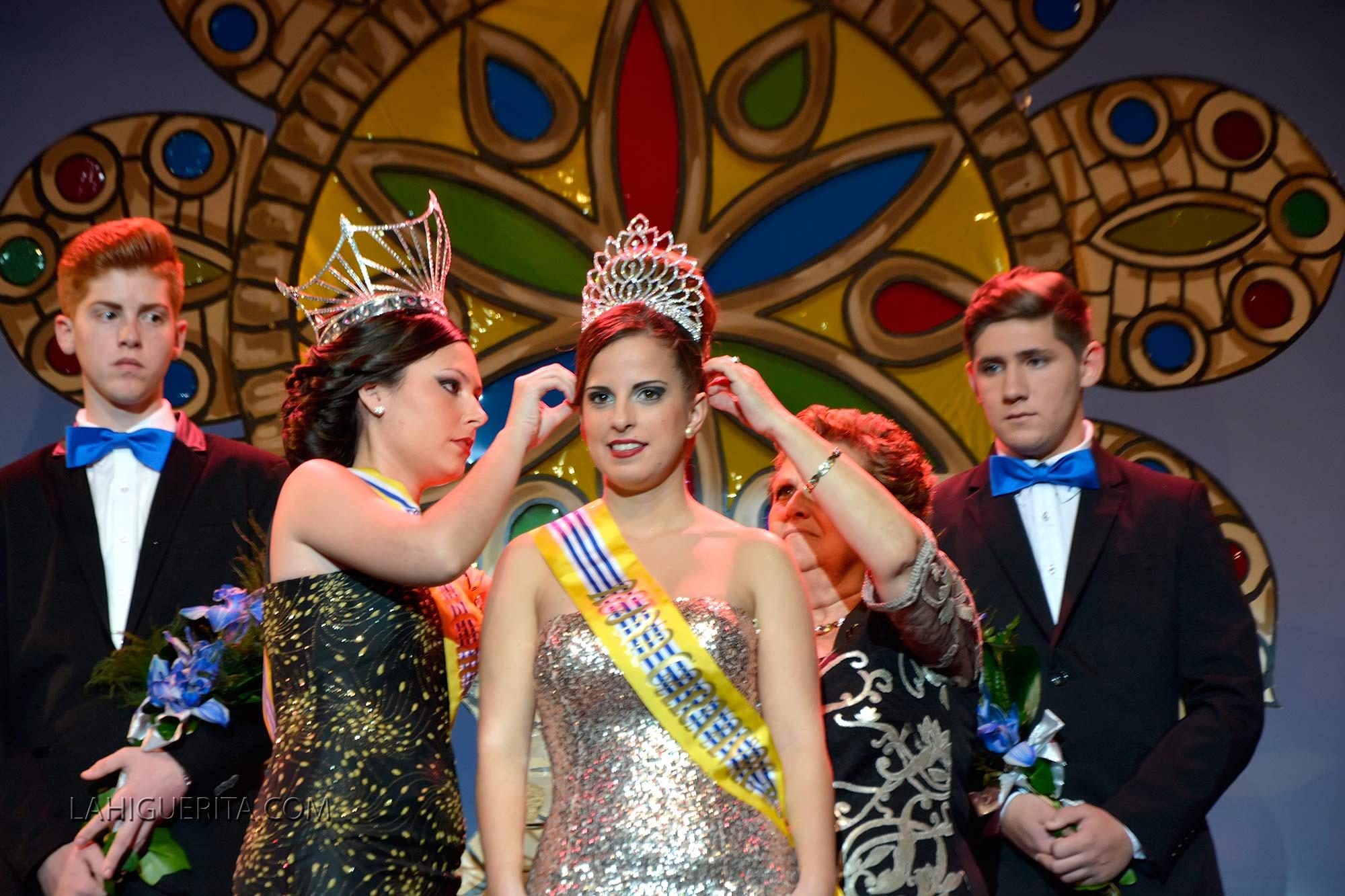 Coronación de la Reina juvenil del Carnaval de Isla Cristina 2016