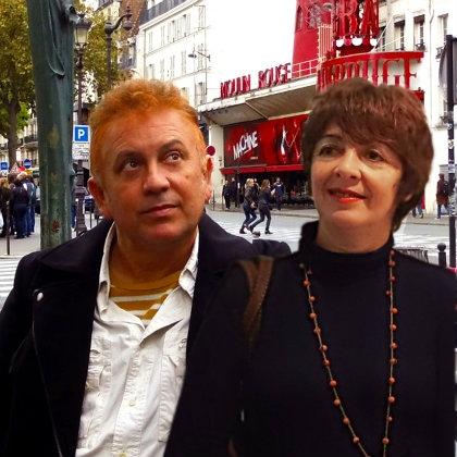 Los artistas isleños Rocío López y Miguel Ángel Concepción, triunfan en París