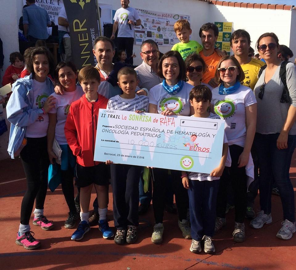 Más de 1.000 Atletas Solidarios en el II Trail La Sonrisa de Rafa