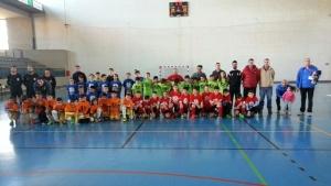 Los niños isleños participaron en el torneo de fútbol 'Todos somos sordos'