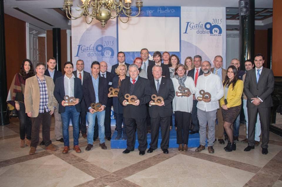 Isla Cristina, galardonada por el Grupo Empresarial 'Doble On Huelva'