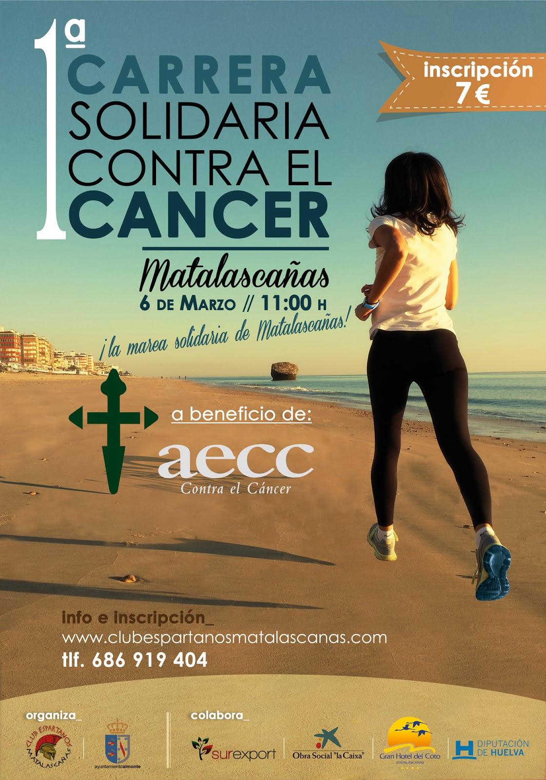 I Carrera / Caminata Solidaria Contra el Cáncer Playa de Doñana - Matalascañas