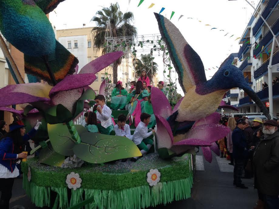 Isla Cristina ya vive su Carnaval de Calle