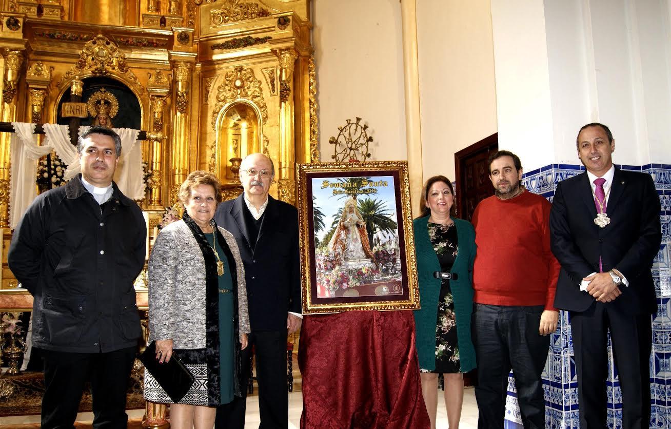 Presentados el Cartel y el Pregonero de la Semana Santa de Isla Cristina 2016
