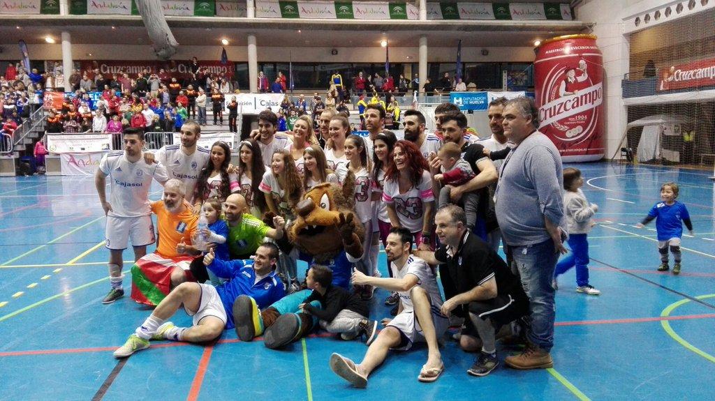 El CD Sordos Huelva Campeón de Europa de Clubes de Fútbol Sala