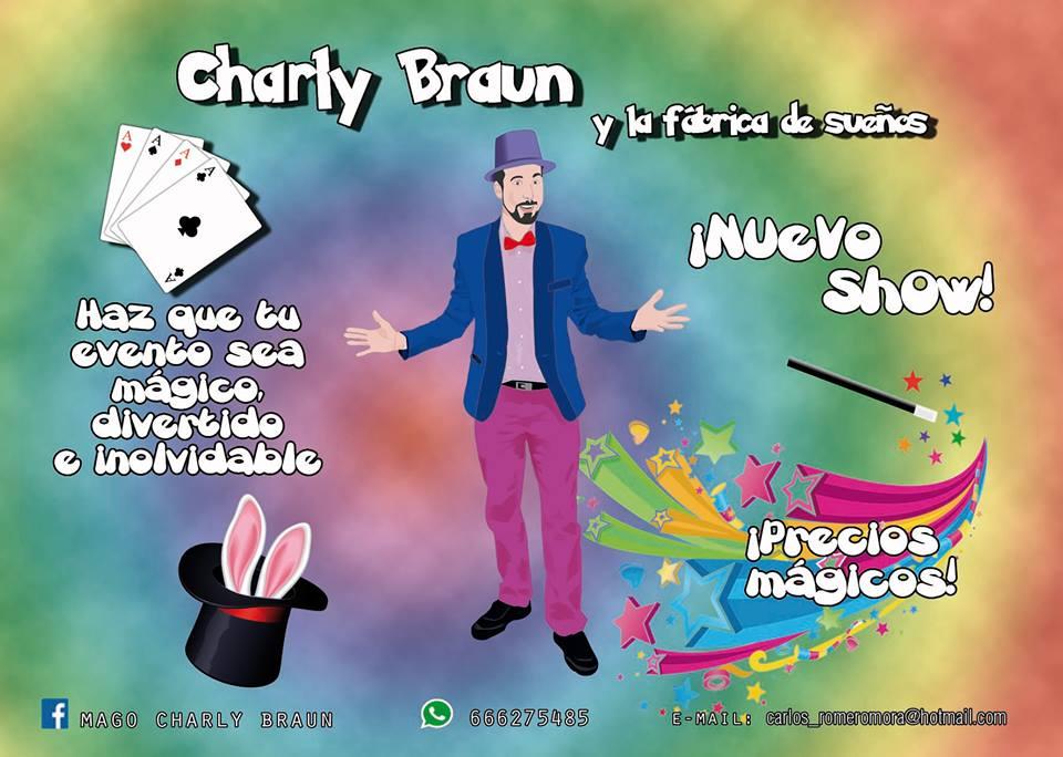 El Mago isleño Charly Bráun lleva su magia y humor a Lalín