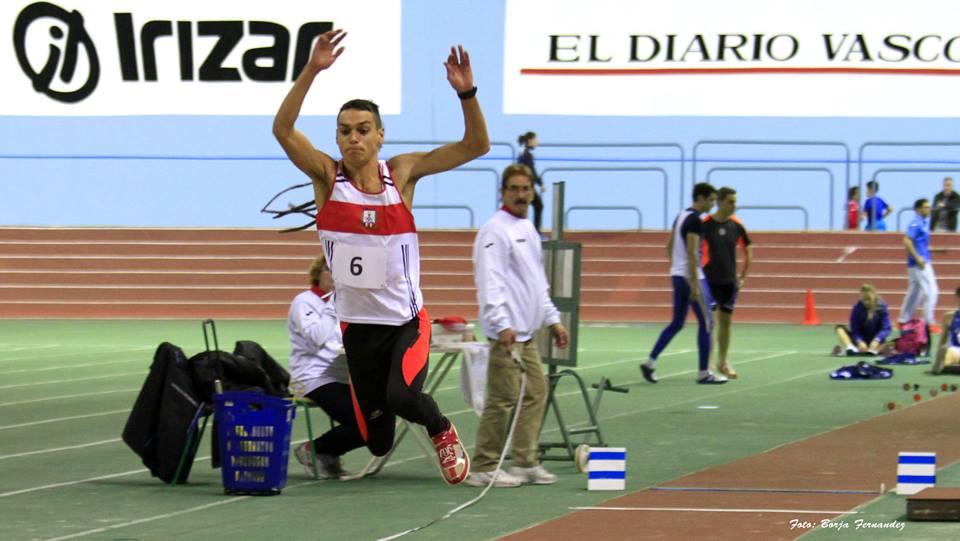El atleta sleño Daniel Elias Peña vuelve a competir 4 años después