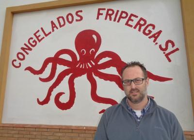 Friperga empresa de Isla Cristina dedicada a la compra y comercialización de pulpo congelado.