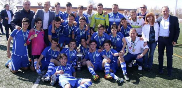 La selección cadete Campeona de Andalucía del técnico isleño Manolo Vaz, ya tiene rivales