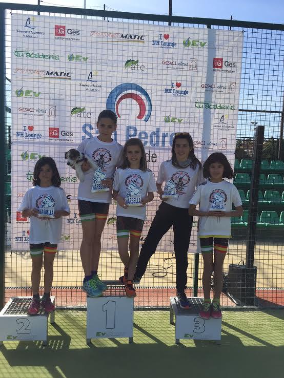 """La cantera onubense suma ocho podios del Duatlón Marbella/El isleño """"Iberman"""" dominante"""