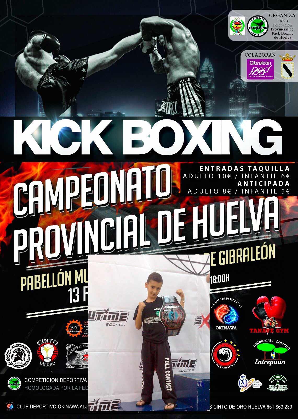 El isleño Daniel Rodríguez Defiende Título en el Campeonato Provincial de Kick Boxing
