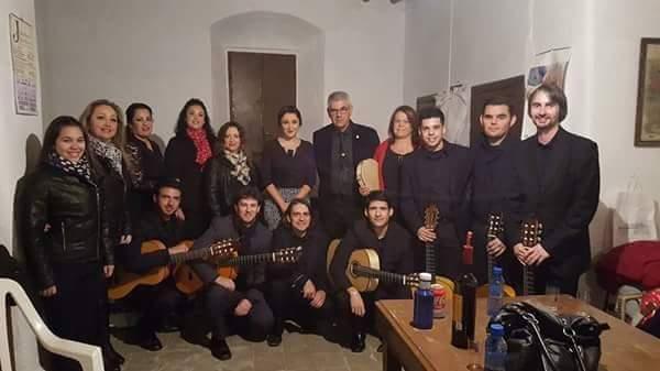 Espectáculo de la 'Cavaera Flamenca' en la Peña Cultural flamenca La Higuerita en Isla Cristina