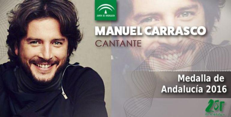 Manuel Carrasco recibe la Medalla de Andalucía y lo celebra con un concierto en Sevilla