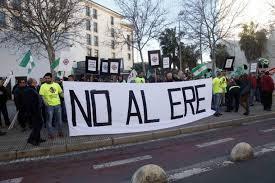 """La Plataforma del ERE acusa al tripartito de """"amordazar"""" una protesta convocada para este miércoles"""