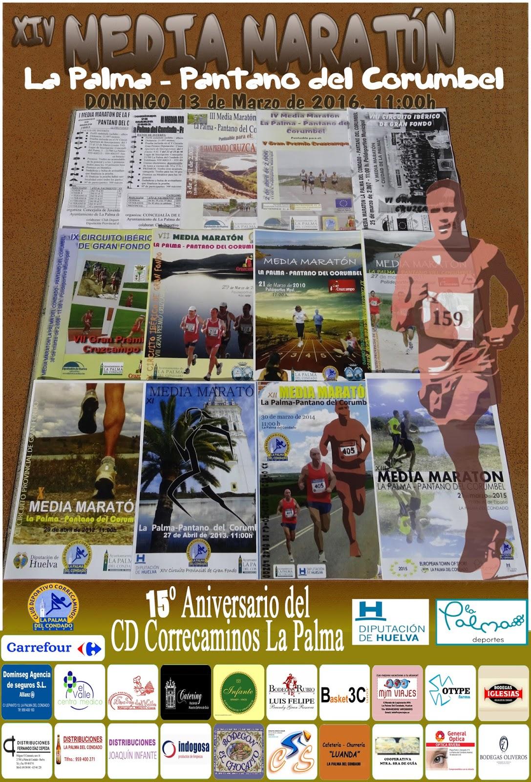 XIV Media Maratón La Palma - Pantano del Corumbel