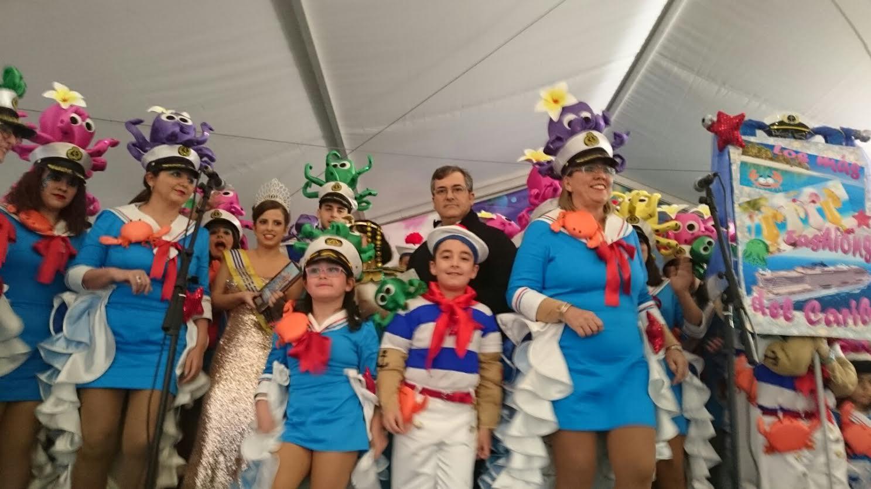Entregados los premios del Carnaval 2016 y el Antifaz de Oro de la Peña Pasacalles