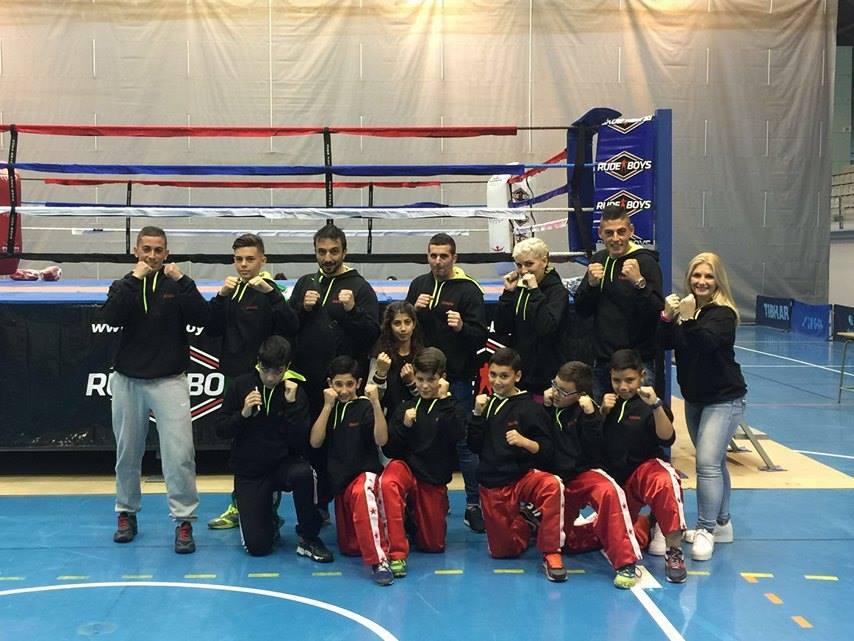 Éxito del VIP GYM Isla Cristina en el Provincial de Kick Boxing