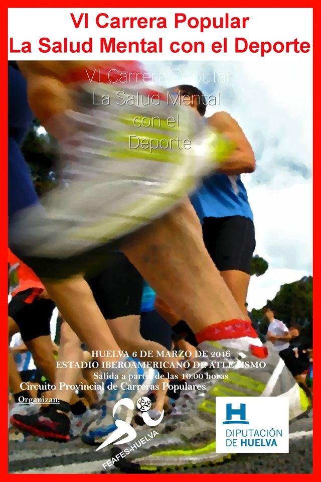 VI Carrera Popular La salud Mental con el Deporte