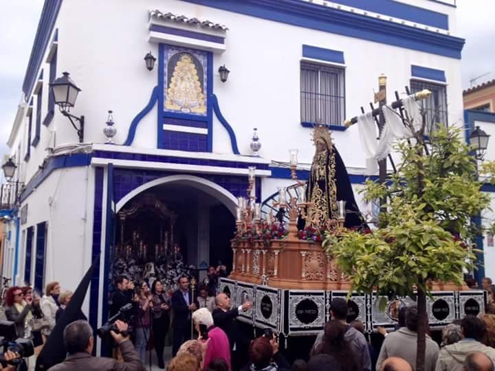 La Semana Santa en la Hermandad del Rocío de Isla Cristina