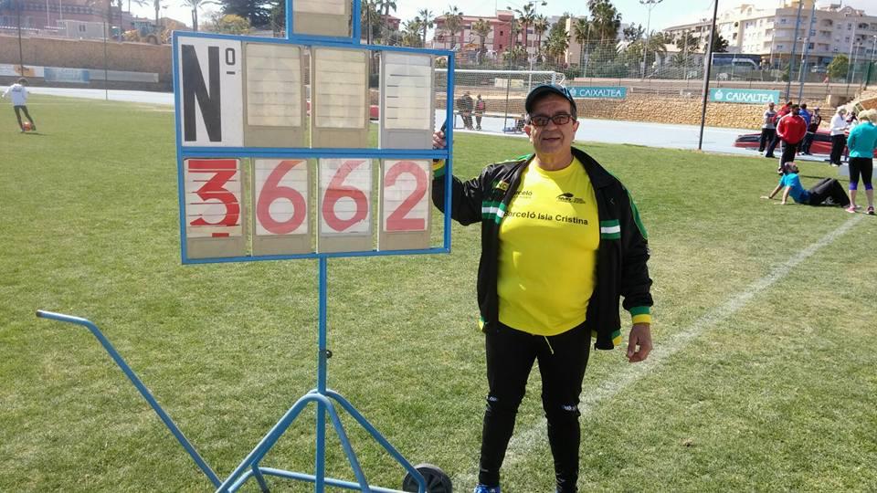 """Antonio de la Palma Casado """"Atleta con Ilusión Permanente"""""""
