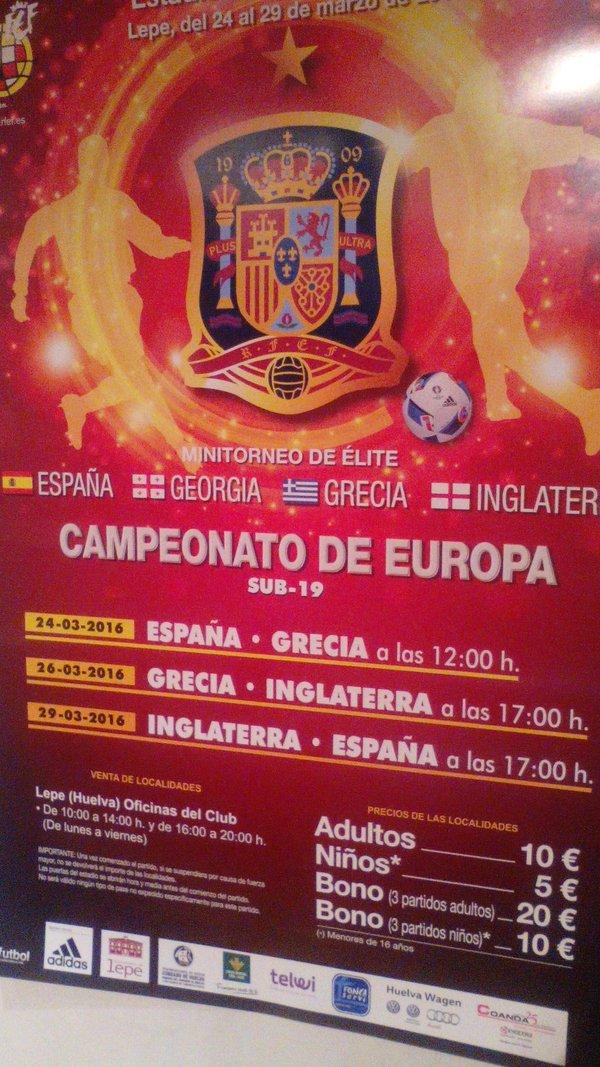 campeonato europa sub19