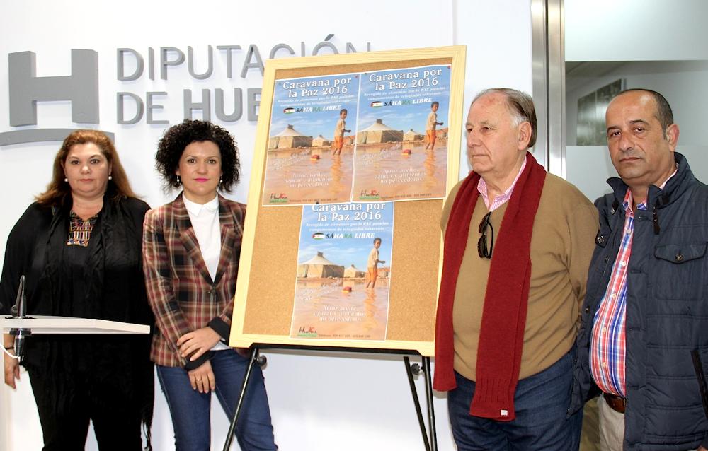 La Caravana por la Paz 2016 realiza una llamada a la solidaridad de los onubenses con el pueblo saharaui