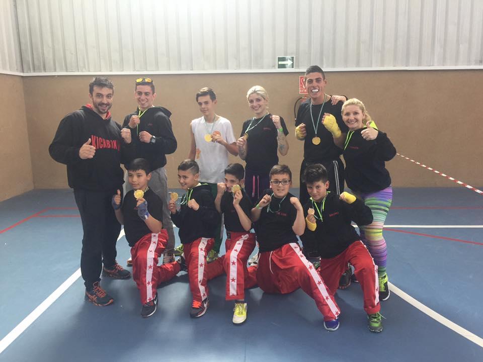 Nueve oros en Granada para el Club Vip Gym-Isla Cristina en el Campeonato de Andalucía