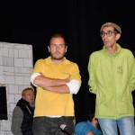 Ensayo del Pregón Carnavalero en Isla Cristina de la