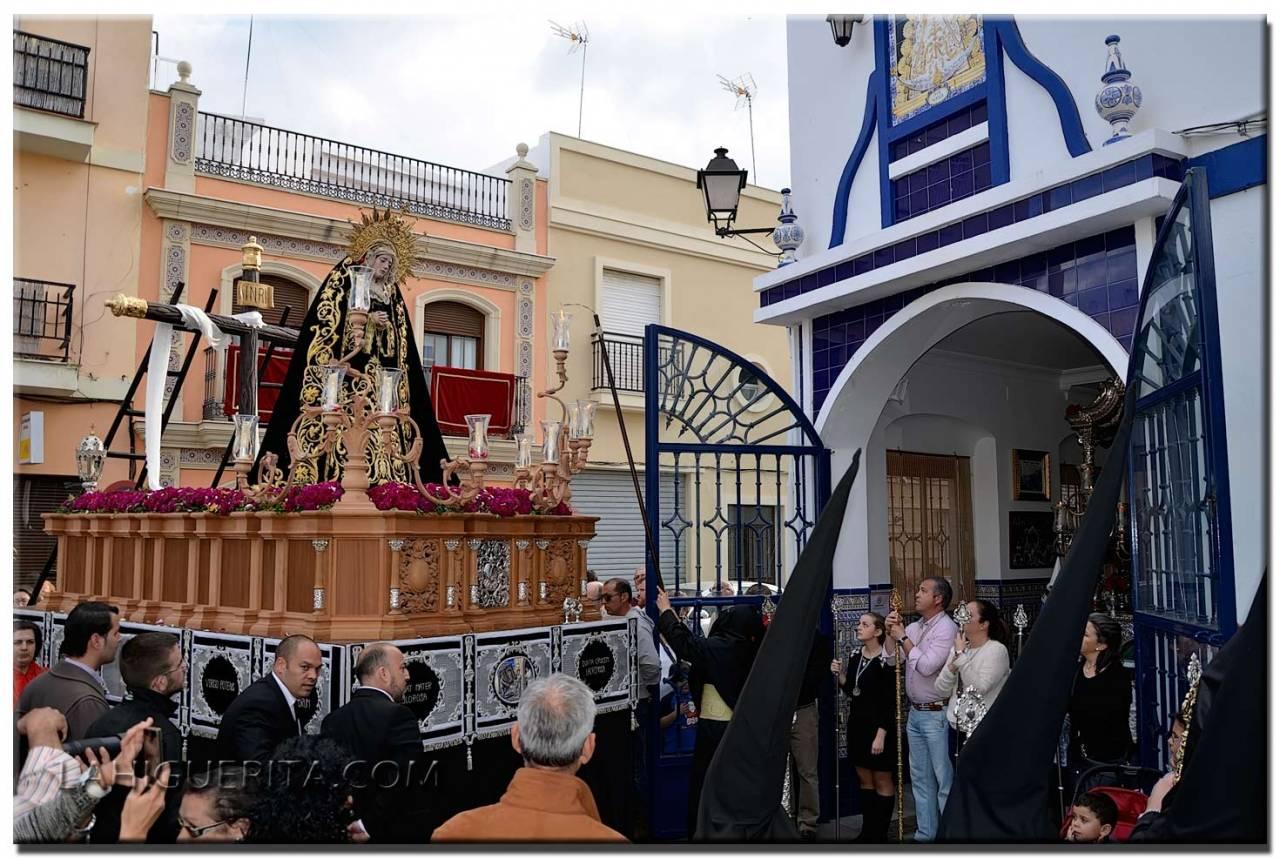"""Itinerario para el """"Sábado Santo"""" de la Semana Santa de Isla Cristina 2019"""
